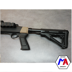 166.png Download STL file airsoft shotgun grip adapter Fabarm STF12 airsoft • 3D print model, Motion-airsoft
