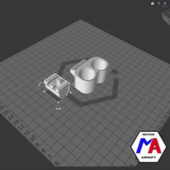 31.png Download STL file airsoft M870 barrel holder • 3D printing model, Motion-airsoft