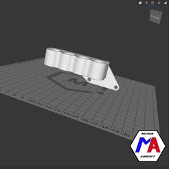 35.png Download STL file airsoft M870 cartridge holder • Object to 3D print, Motion-airsoft