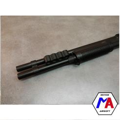 149.png Download STL file airsoft M870 barrel holder • 3D printing model, Motion-airsoft