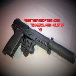 IMG_9035_-_Kopi.jpg Download free STL file WeebTheAirsofter MK23/SSX23 triggerguard holster V3 RIGHT/ LEFT • 3D printing design, WeebTheAirsofter