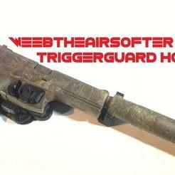 WeebTheAirsofter_Mk23_triggerguard_holster.JPG Download free STL file WeebTheAirsofter Mk23 triggerguard holster • 3D printer object, WeebTheAirsofter