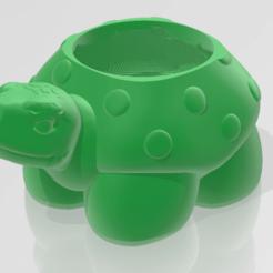 tortuga.2.png Descargar archivo STL gratis macetero tortuga • Diseño imprimible en 3D, martin_dupu