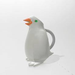 PINGUI.png Descargar archivo STL gratis Jarra pingüino • Modelo para imprimir en 3D, martin_dupu
