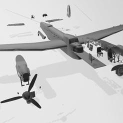 b17.png Télécharger fichier STL gratuit avions bombardiers • Plan imprimable en 3D, martin_dupu