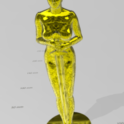 Download 3D printer designs Feminist Oscar, martin_dupu