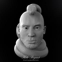 Koba7.jpg Download STL file Kobe Bryant Pendant • 3D printing design, weissehome