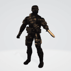 SNE1.png Download OBJ file Snake Eyes • 3D printer object, mercilessjones
