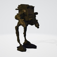 sw01.jpg Download OBJ file Scout Walker • 3D printing template, mercilessjones