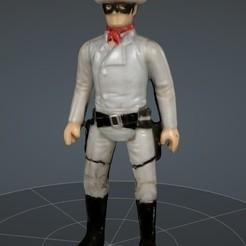 Télécharger fichier OBJ Le Ranger solitaire • Objet pour impression 3D, mercilessjones