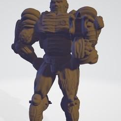 pops.jpg Download STL file Space Marine Larry • 3D printing model, mercilessjones