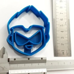 robin_cortante2.jpg Download STL file Robin Young Titans Cookie Cutter • Model to 3D print, Biguibigui