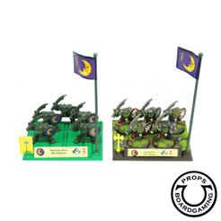 Orcs_Battlemasters_logo_Uldaric_Boardgaming_Props_figurines_miniatures.png Télécharger fichier STL Socles régimentaires Seigneurs de Guerre – wargame 28mm aimanté • Plan imprimable en 3D, UldaricBoardgamingProps