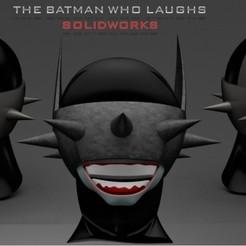 Télécharger fichier imprimante 3D gratuit Batman qui rit, sergiofma