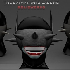 Download free STL file Batman Who Laughs • 3D printable template, sergiofma