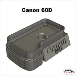 Canon_60D_house_holder_01.jpg Télécharger fichier STL Canon 60D House Holder • Plan à imprimer en 3D, TobbesCustomDesign