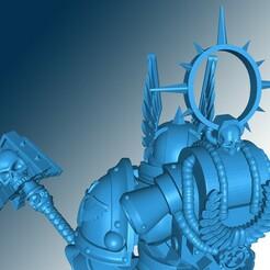 01.jpg Download free STL file Tenebricosus Angelus Cappellanum Nominare • 3D printable design, oHm