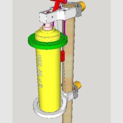 Download free 3D print files SprayDosen-Verlaengerung, CoffeCup