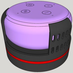 Download free 3D printing models Echo Dot 3 - Battery operation 18650, CoffeCup