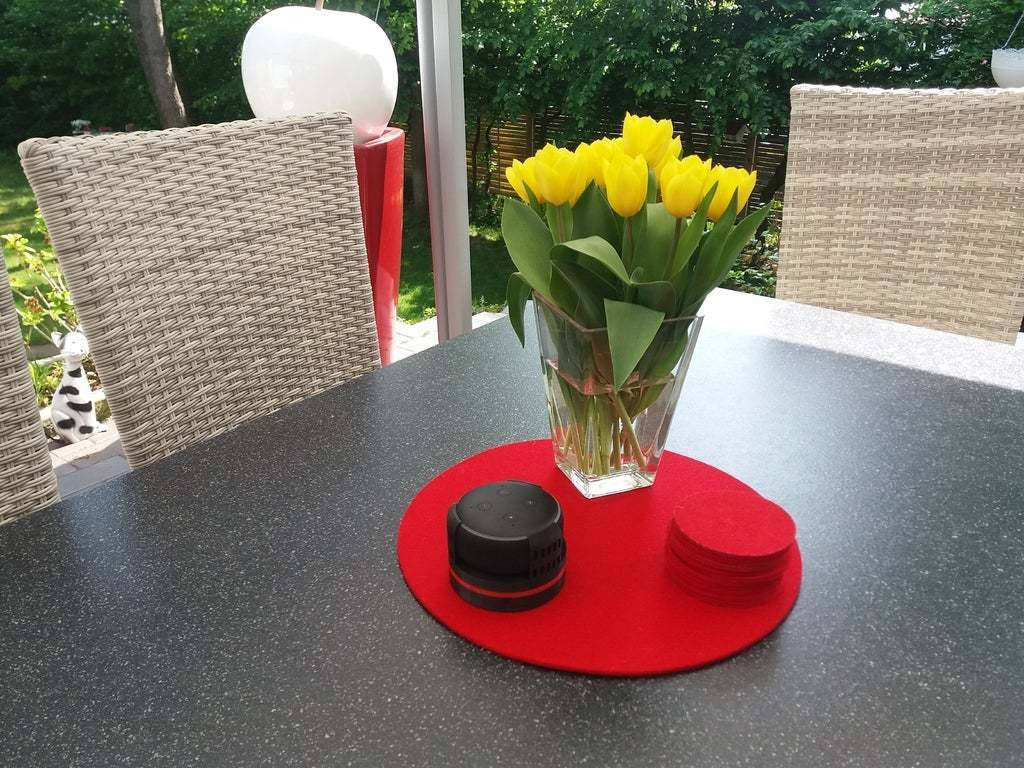 20200508_150314.jpg Download free STL file Echo Dot 3 - Battery operation 18650 • Template to 3D print, CoffeCup