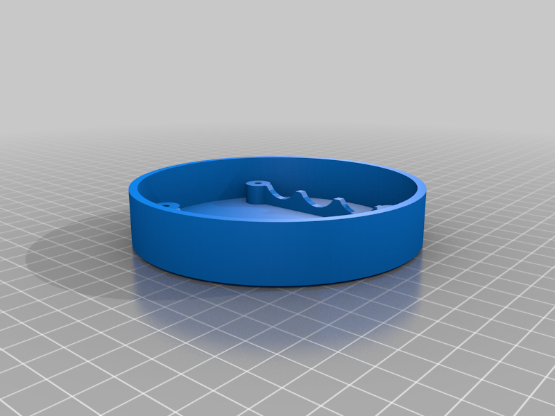 unterteil.png Download free STL file Echo Dot 3 - Battery operation 18650 • Template to 3D print, CoffeCup