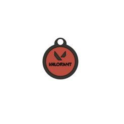 Download free STL file Valorant key ring • Model to 3D print, Betterave_Creuse