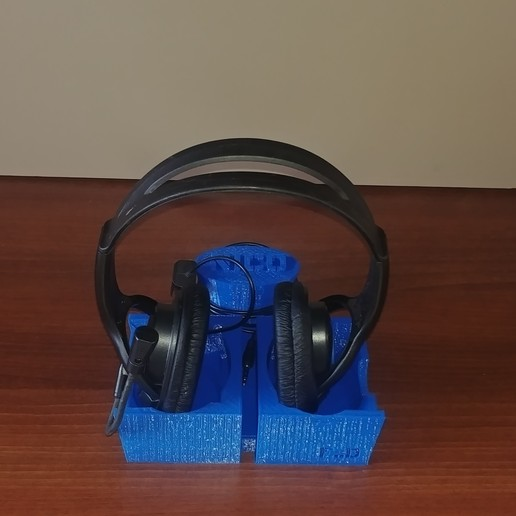 FD Headphones stand 5.jpg Download free STL file Universal Headphones Stand 3D Model • 3D printer design, FDesign