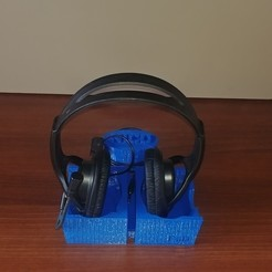 Download free 3D print files Universal Headphones Stand 3D Model, FDesign