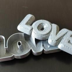 IMG_20200612_124530.jpg Download STL file LOVE BOX Storage • 3D printing template, helderbernardo