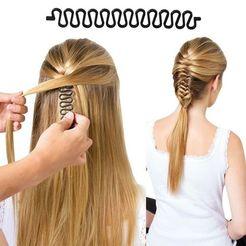 Download STL files Shang Du - french hair braiding tool , helderbernardo