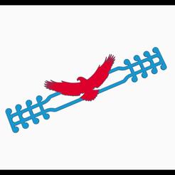 eagle.png Download STL file American Eagle - EAR SAVER - MASK STRAP • 3D printing design, helderbernardo