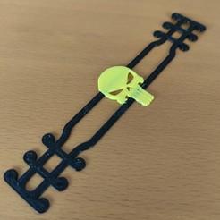 Download 3D printer templates Punisher - Ear Saver - Mask Strap, helderbernardo