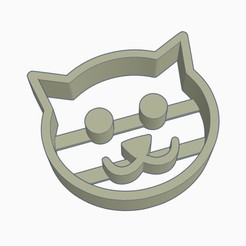 cat cookie.jpg Télécharger fichier STL Coupe-biscuits Happy Cat • Plan pour imprimante 3D, helderbernardo