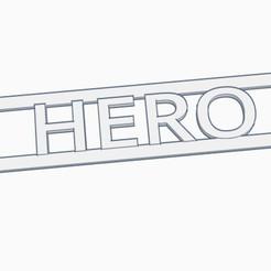 ear saver - hero.jpg Descargar archivo STL Salvadora de oídos con el nombre de HÉROE • Modelo imprimible en 3D, helderbernardo