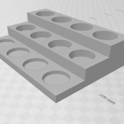 Descargar archivo STL herramientas para la pintura de colores • Diseño para imprimir en 3D, bellavistanicola