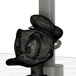 boquilla pato donald.png Download STL file duck donald mouthpiece • 3D printable design, javiialcazar