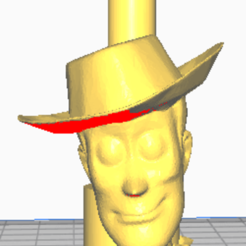 woddy con cuerpo boquilla.png Download STL file shisha woody toy story mouthpiece • 3D print template, javiialcazar