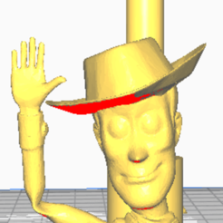 woddy con brazo boquilla.png Download STL file shisha woody toy story mouthpiece • 3D print template, javiialcazar