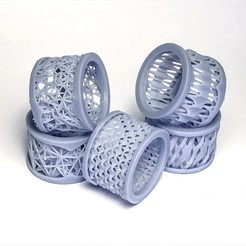 Download free 3D printing files Weaving rings, Alakazam
