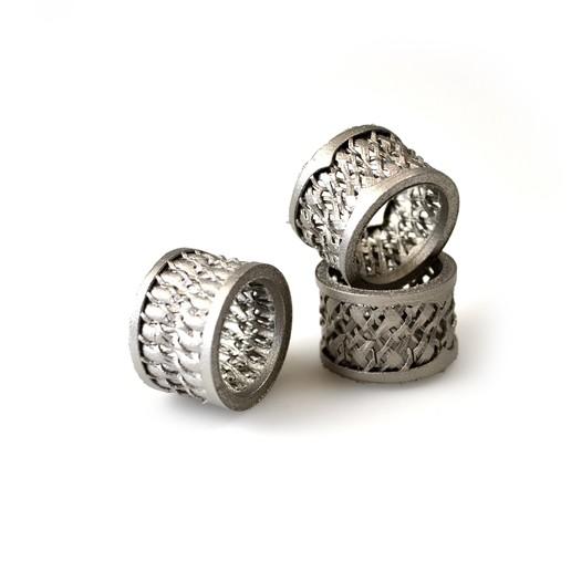 DSC_0439.JPG Download free OBJ file Weaving ring • 3D print design, Alakazam