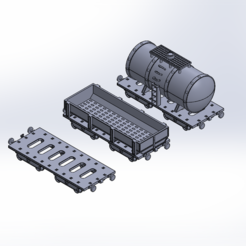 Train_wagon_main.PNG Download STL file Warhammer train wagons • 3D printable template, Forsete