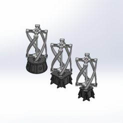 Vertical_windmill_main_3.PNG Download STL file Warhammer Vertical Windmill • Template to 3D print, Forsete