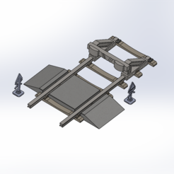 Railway_track_product_3.PNG Download STL file Warhammer Railway Track • 3D printer design, Forsete