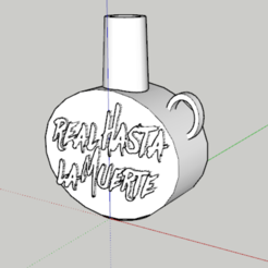 Captura.PNG Download STL file Royal Mouthpiece to the Death Anuel AA • Object to 3D print, lopezindustries