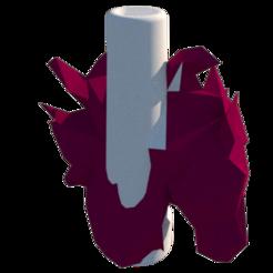 render 2.png Download STL file Horse Mouthpiece • 3D printable design, lopezindustries