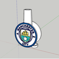 Captura.PNG Download STL file Manchester City Mouthpiece • 3D print template, lopezindustries