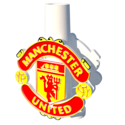 1.png Download STL file Manchester United Mouthpiece • 3D printable object, lopezindustries