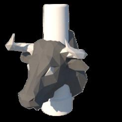 render.png Download STL file Bull Nozzle • 3D printable template, lopezindustries
