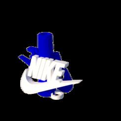 nike.png Download STL file Nike Mouthpiece • 3D printer design, lopezindustries