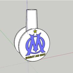 olympic de marsella.PNG Download STL file Mouthpiece olympique de marsella • 3D printer design, lopezindustries